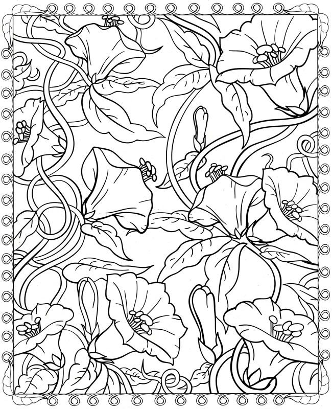 Coloring Page Home