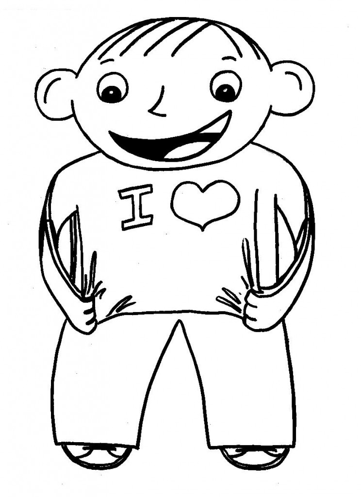 Flat Stanley Free Colouring Pages Flat Stanley Coloring Page