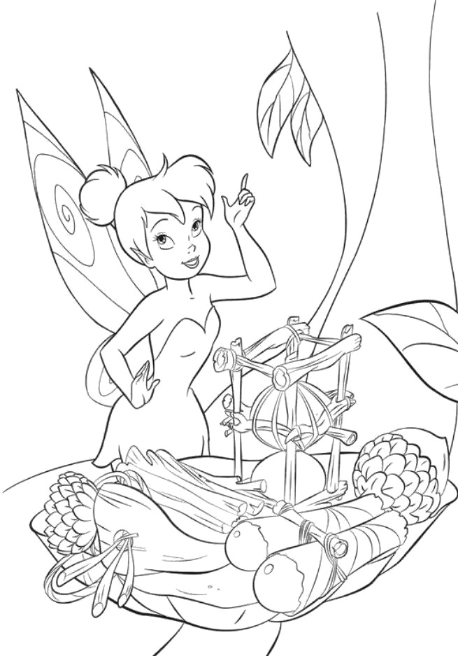 Pictures Of Tinkerbell And Periwinkle - AZ Coloring Pages