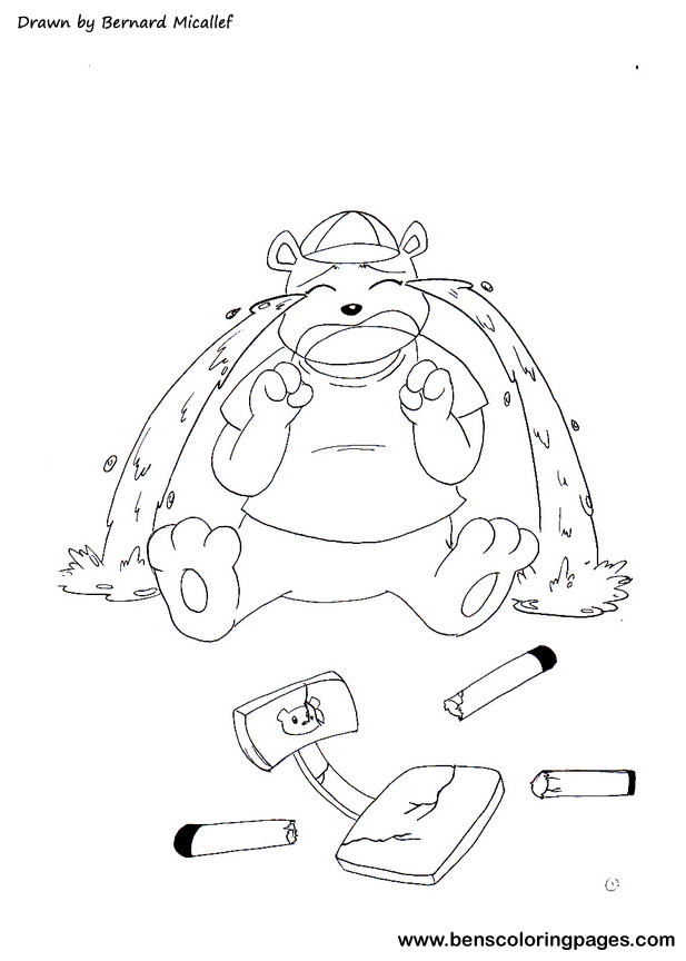 the three bears coloring pages - photo#23