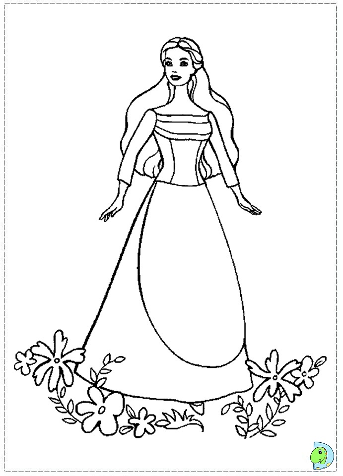 disney swan princess coloring pages - photo#35