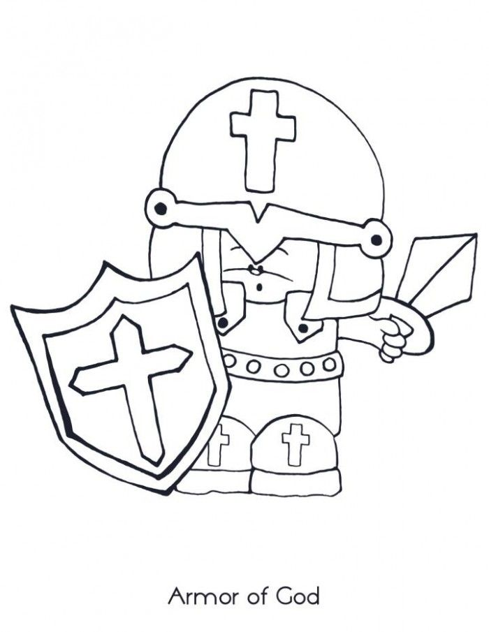 image relating to Armor of God Printable Coloring Page called Armor Of God Coloring Internet pages Printable Coloring Web pages
