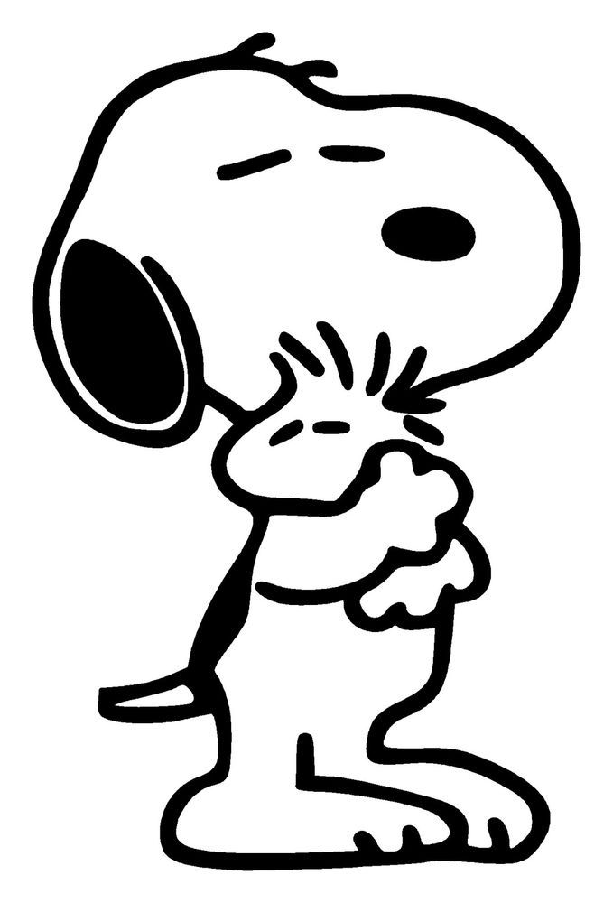 Snoopy and woodstock coloring pages coloring home for Snoopy coloring page