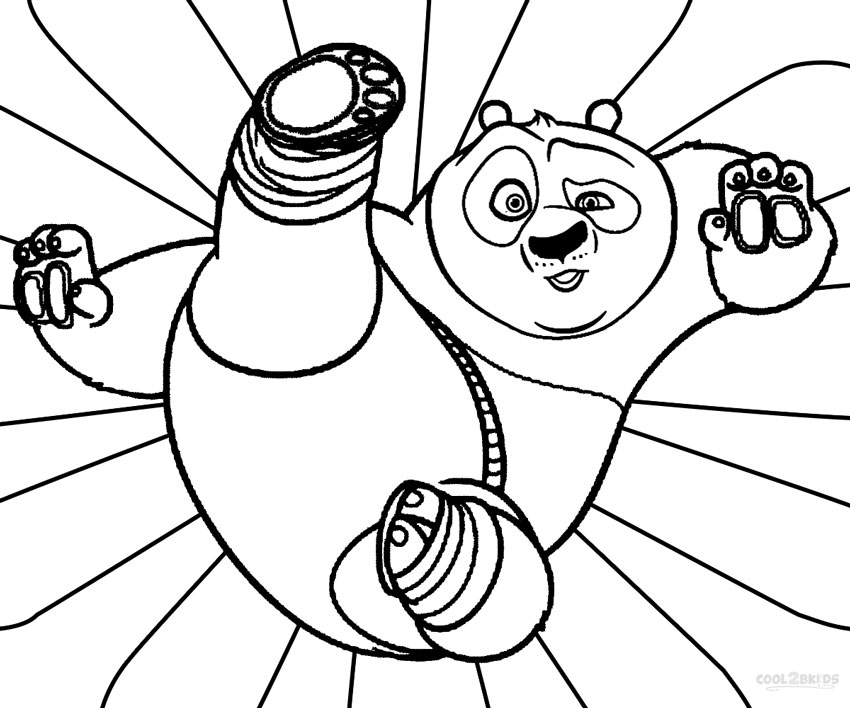 giant panda coloring pages - photo#29