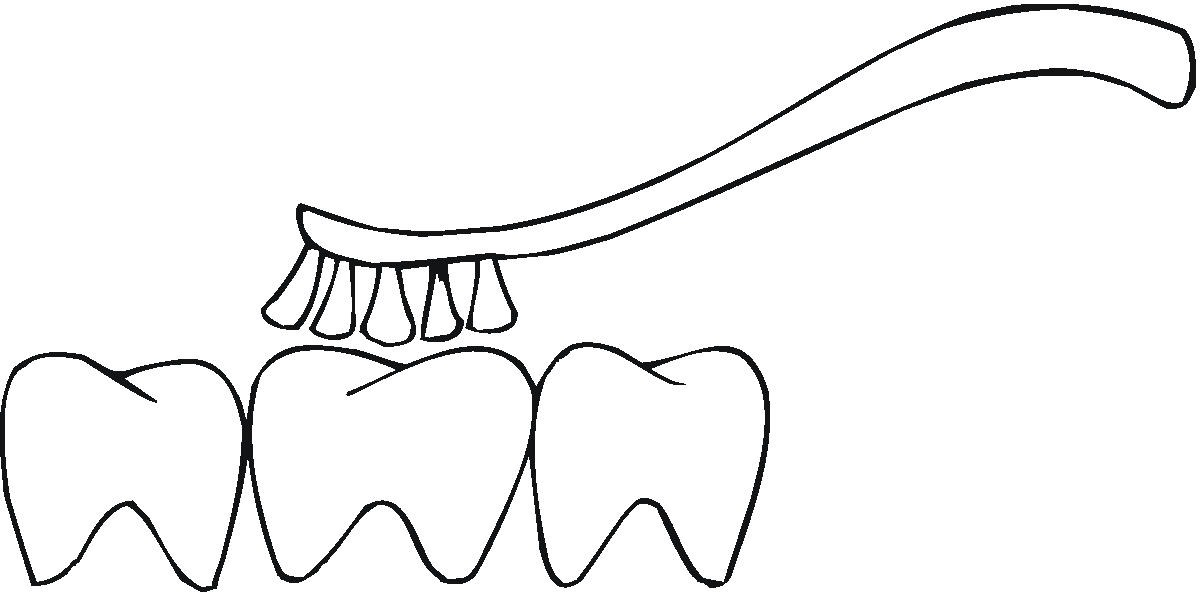 coloring pages for tongue teeth - photo#31