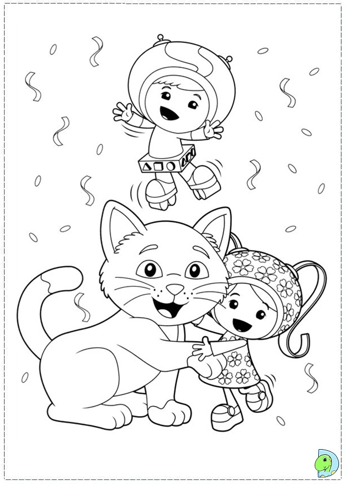 umizoomi coloring pages and pictures imagixs - Quoteko.com