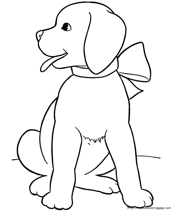Concept Design Home: Dog Drawing For Kids Images