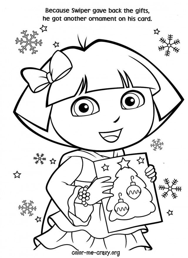 Dora And Diego Coloring Pages Free AZ Coloring Pages
