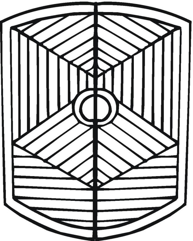 geometric design 15 coloring page