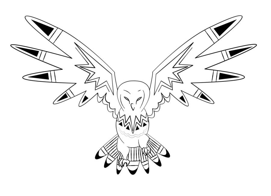 Line Art Home : Owl line drawing coloring home