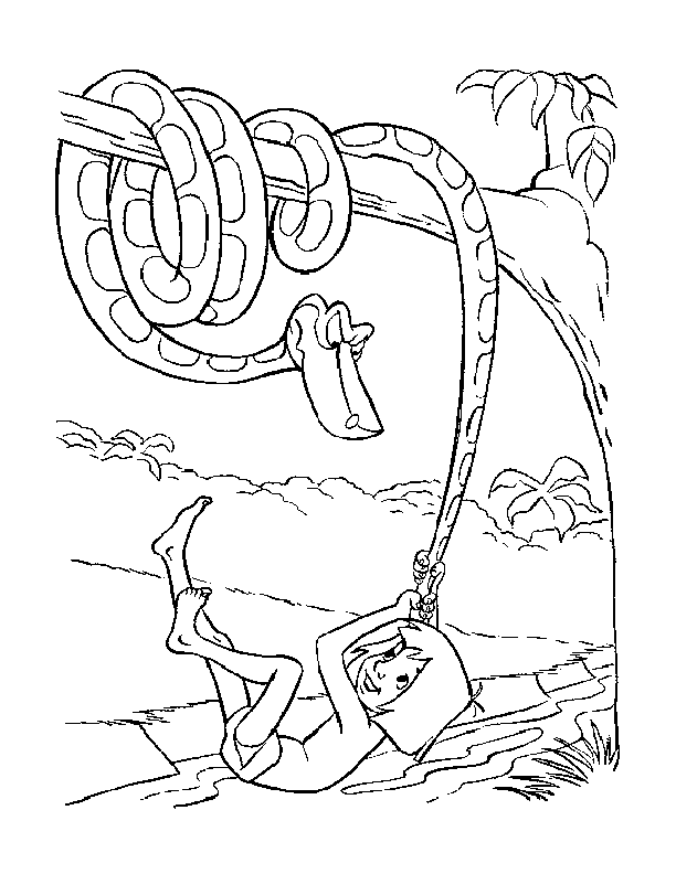 Jungle Book Coloring Pages Pdf : Coloring pages cartoon the jungle book mowgli