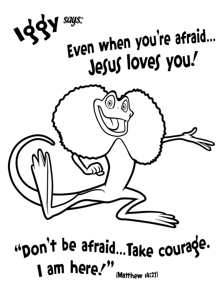Vbs Coloring Pages