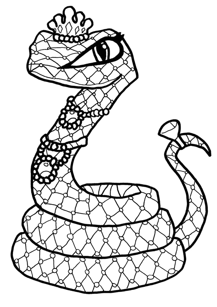 Monster Pets Of Cleo De Nile Coloring Pages - Monster High