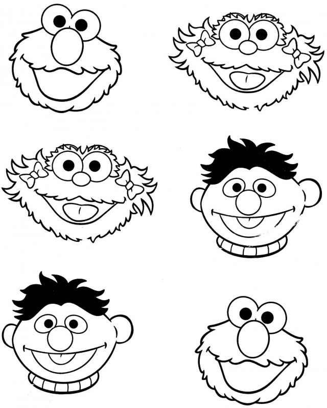 baby sesame street coloring pages - photo#26