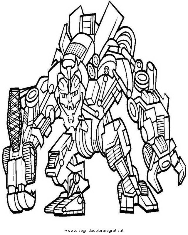 megatron transformer Colouring Pages (page 3)