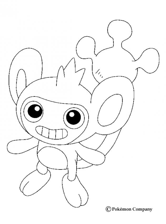 normal coloring pages aipom coloring home