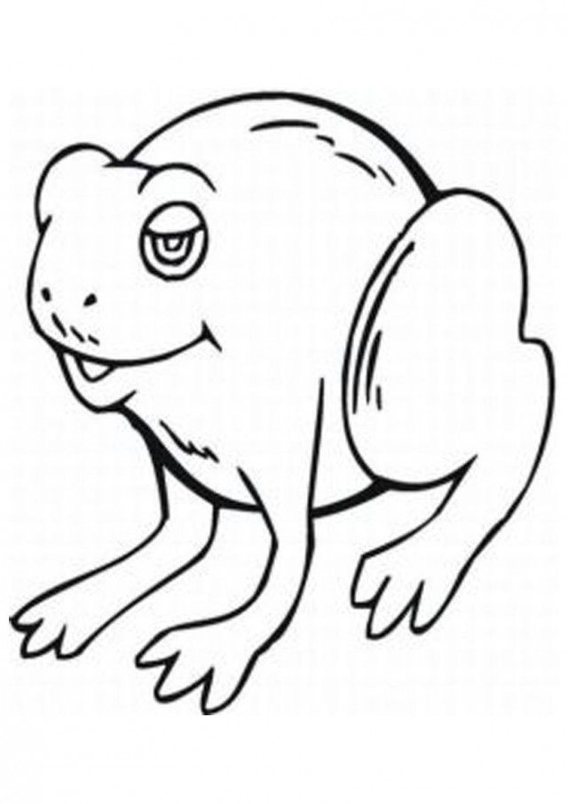 7742 Pictures Frog Animal Coloring Page Templates For Kids 184830