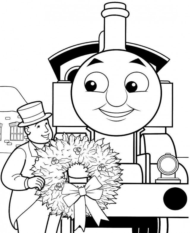 Free Printable Colouring Pages Cartoon Thomas And Friends James