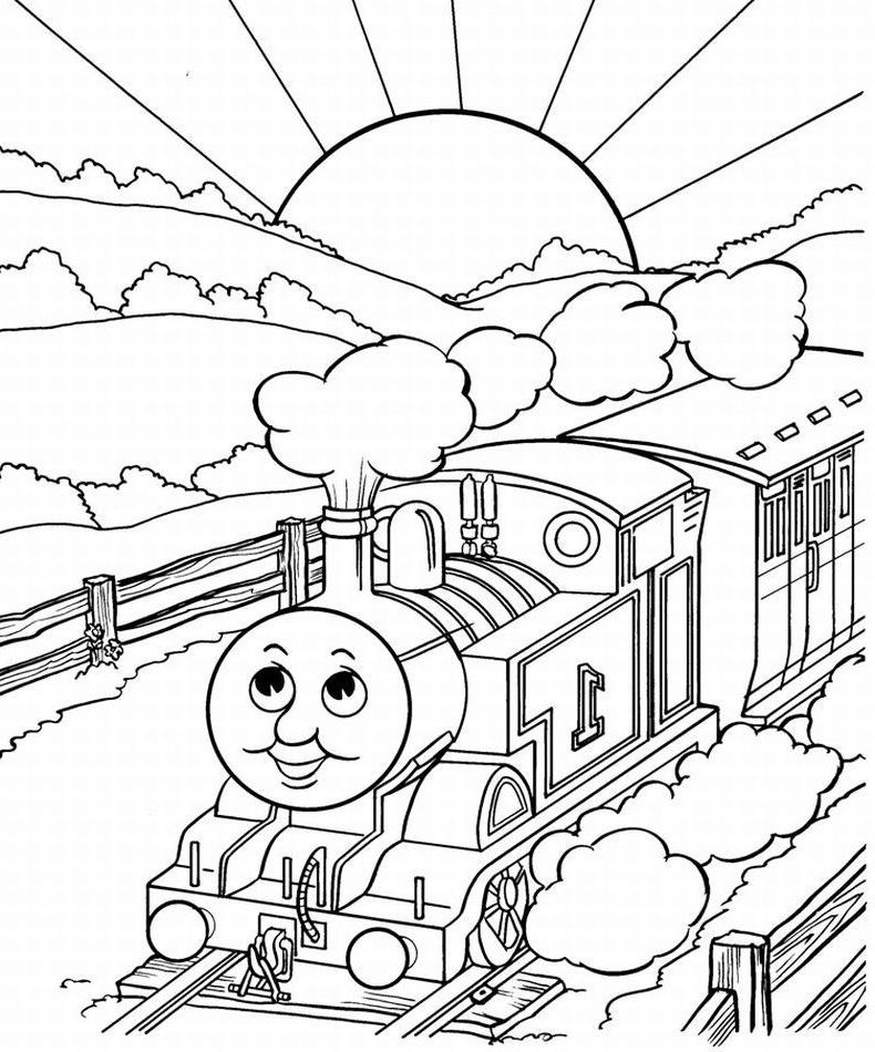 Thomas And Friends Looked Up Coloring For Kids |Thomas & Friends