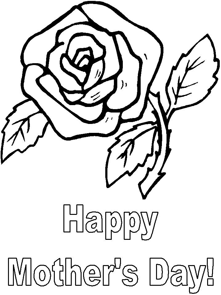 Free Printable Mothers Day Coloring Pages Coloring Home