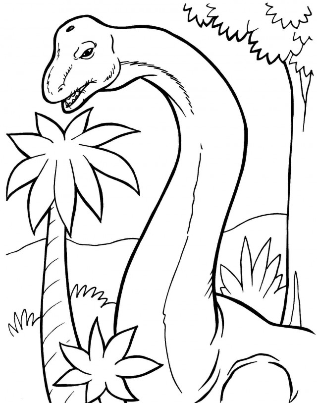 Brachiosaurus Coloring Pages