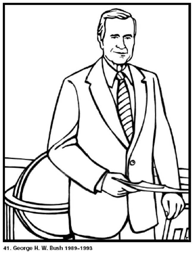 united states presidents coloring pages - photo#21