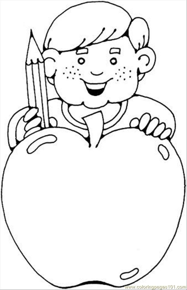 Fruit Coloring Pages Apple Banana Coloring On Our Website We Offer