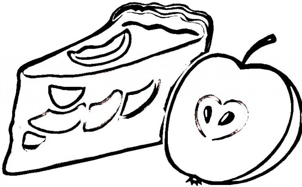 Pie Coloring Pages Coloring Home