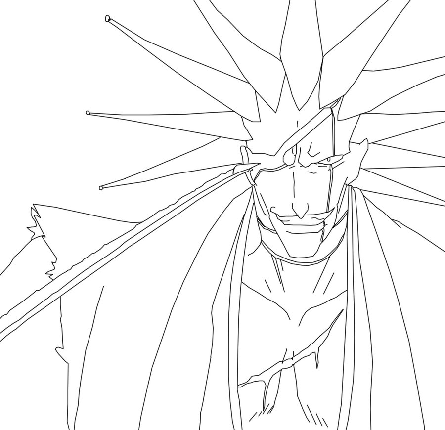bleach coloring book pages - photo#22