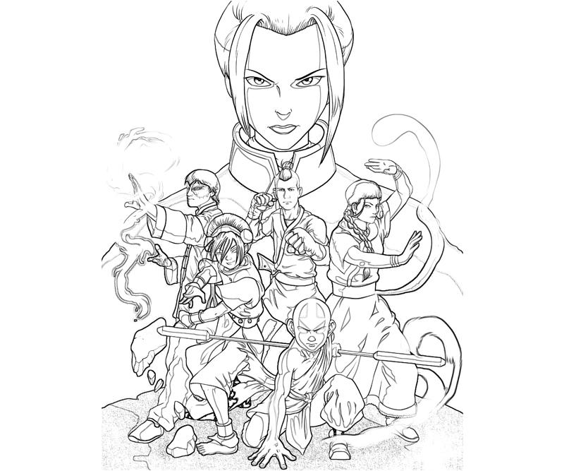 Avatar The Movie Coloring Pages Coloring Home Avatar Last Airbender Coloring Pages