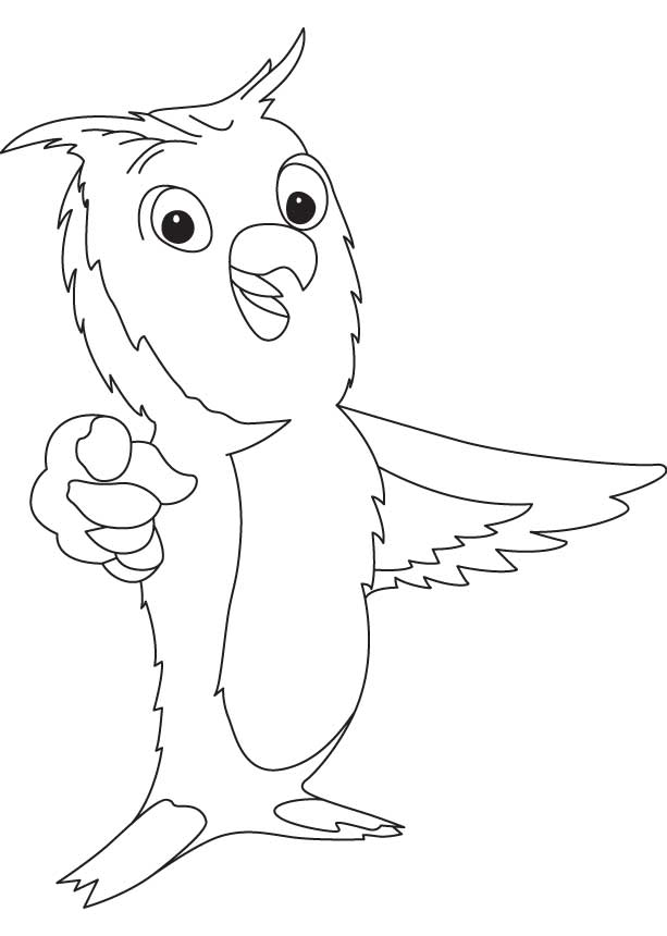 great horned owl coloring pages - photo#30