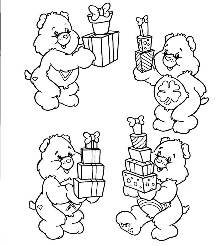 Care Bears Colors - Coloring Home