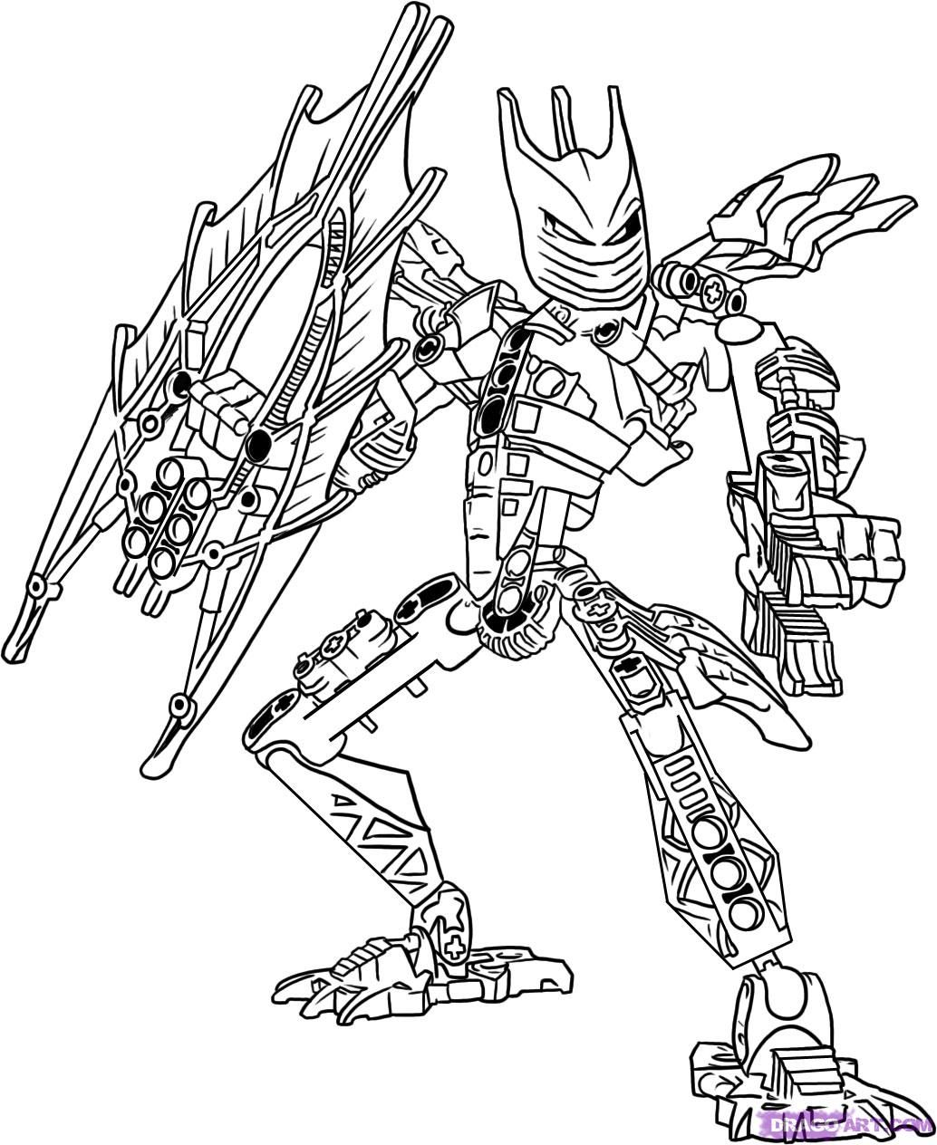 Bionicle Coloring Page