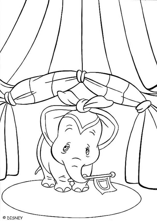 dumbo coloring pages dumbo spectacle