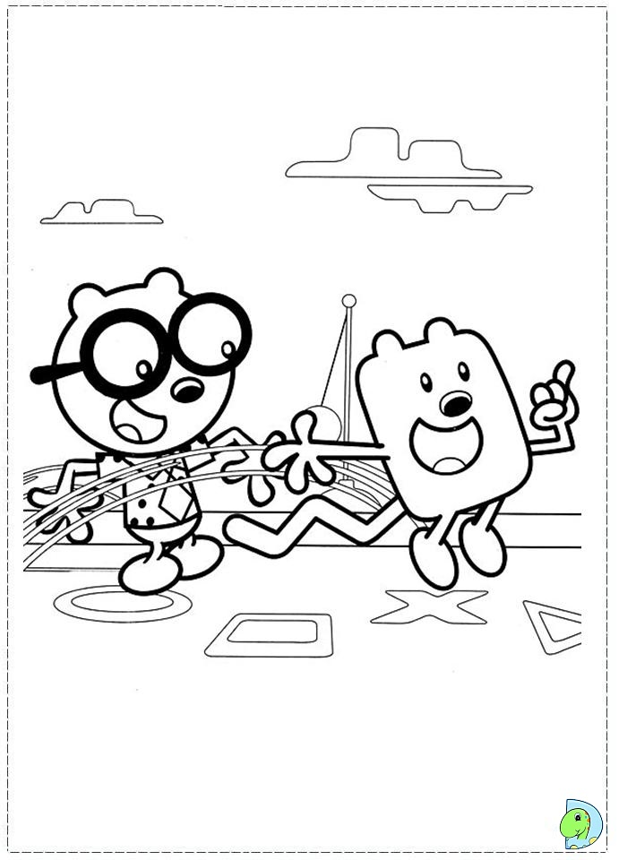 wa wa wubbzy coloring pages - photo #17