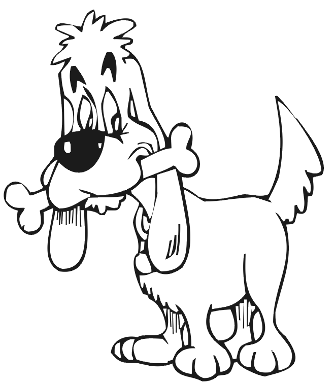 domestic animals coloring pages - photo#3