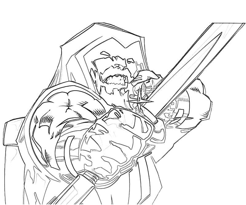 pix for green arrow coloring page