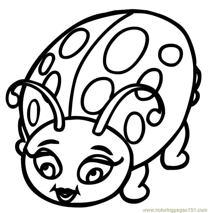 G pages of ladybug colouring pages coloring home for Coloring pages ladybug