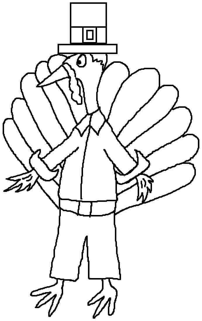 free turkey coloring pages for preschoolers - preschool thanksgiving coloring pages az coloring pages
