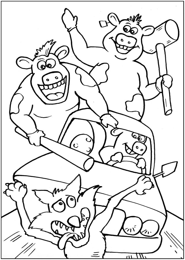 Gallery For gt Barnyard Coloring Pages
