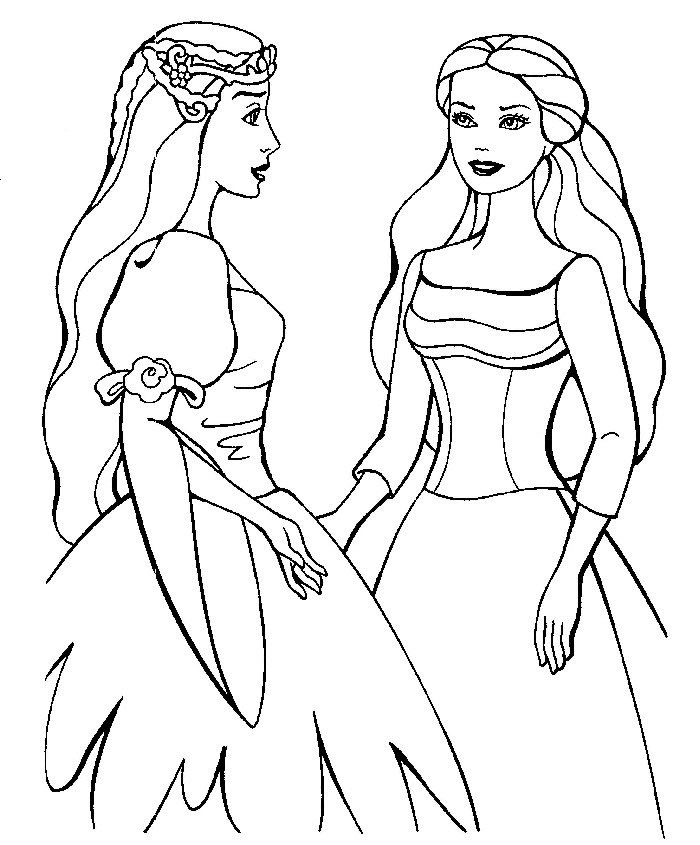 fashion girl coloring pages - photo#13