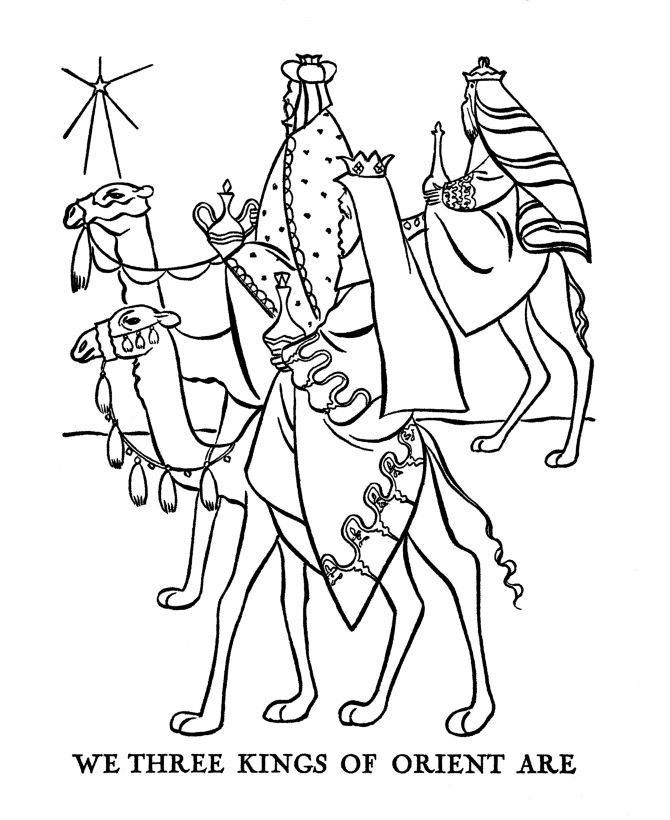 epiphany coloring pages free - photo#2
