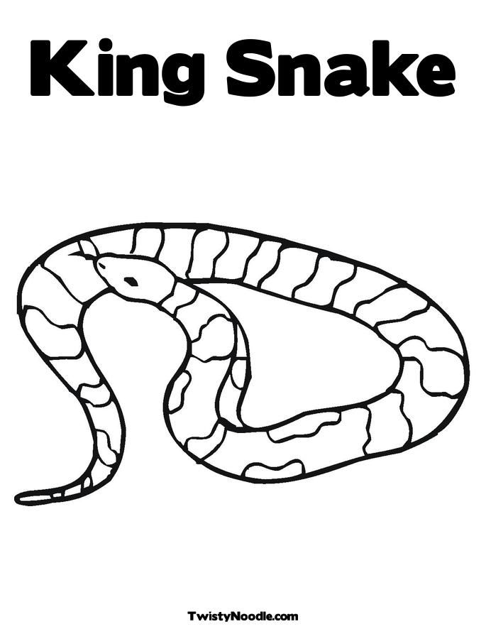 realistic cobra coloring pages - photo#33