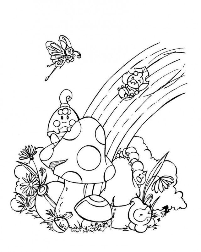 Rainbow Coloring Page Printable Free Coloring Pages For Kids