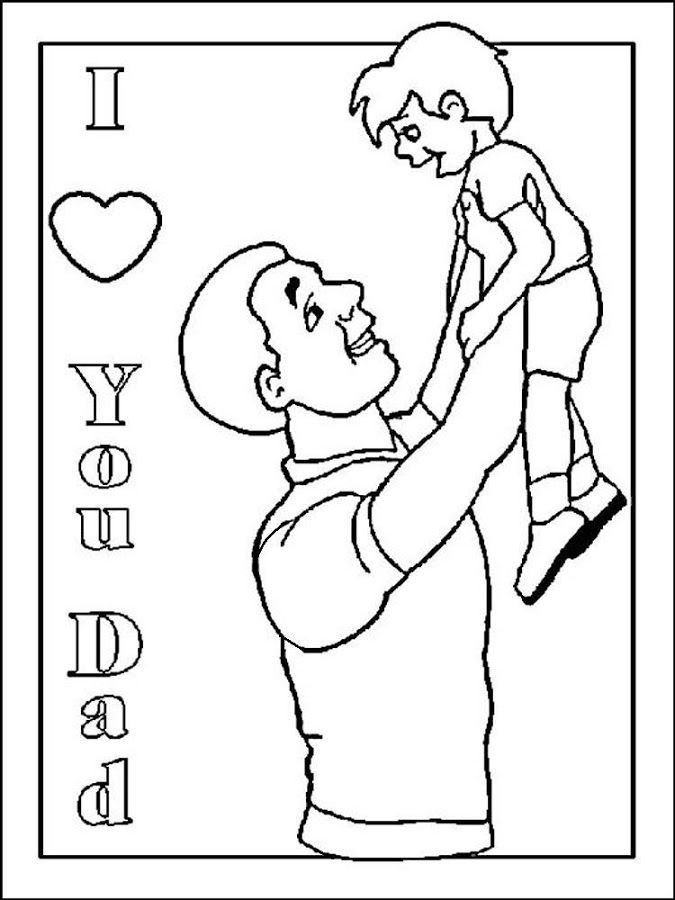 Coloring Pages Apps : Father s day coloring fo kids android apps on google