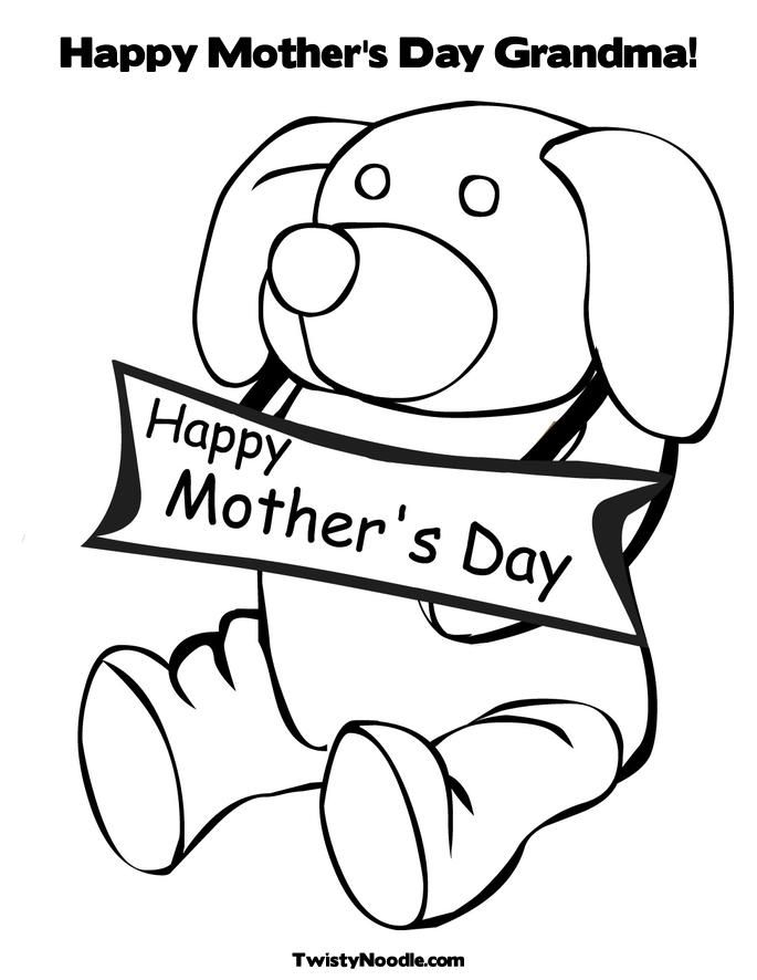 coloring pages for grandmothers - photo#12