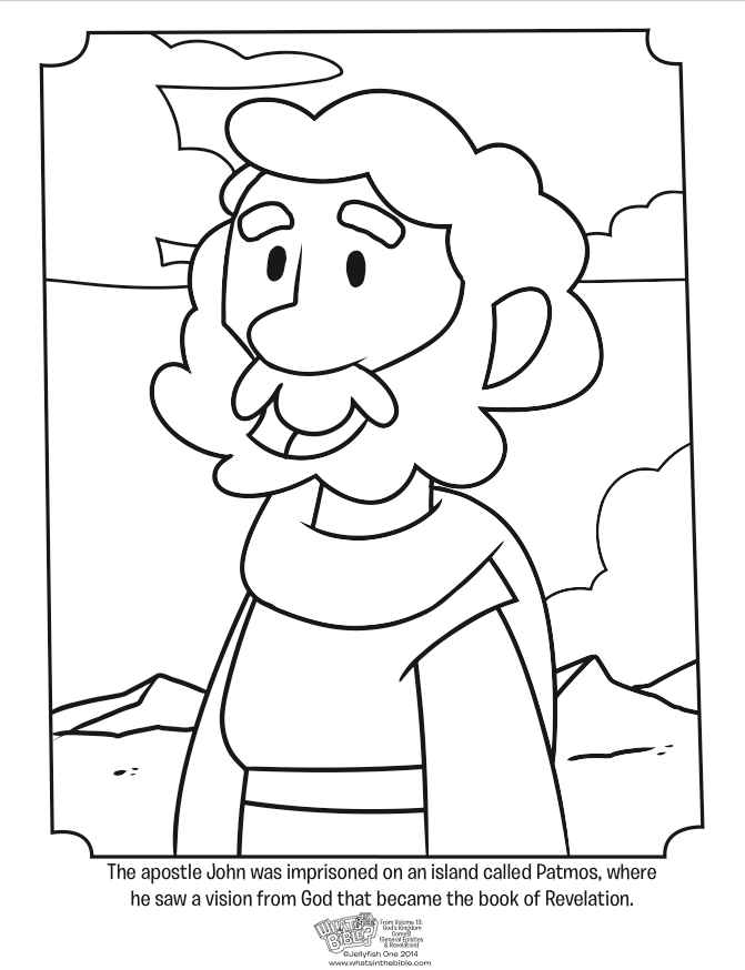 paul the apostle coloring pages - photo#4