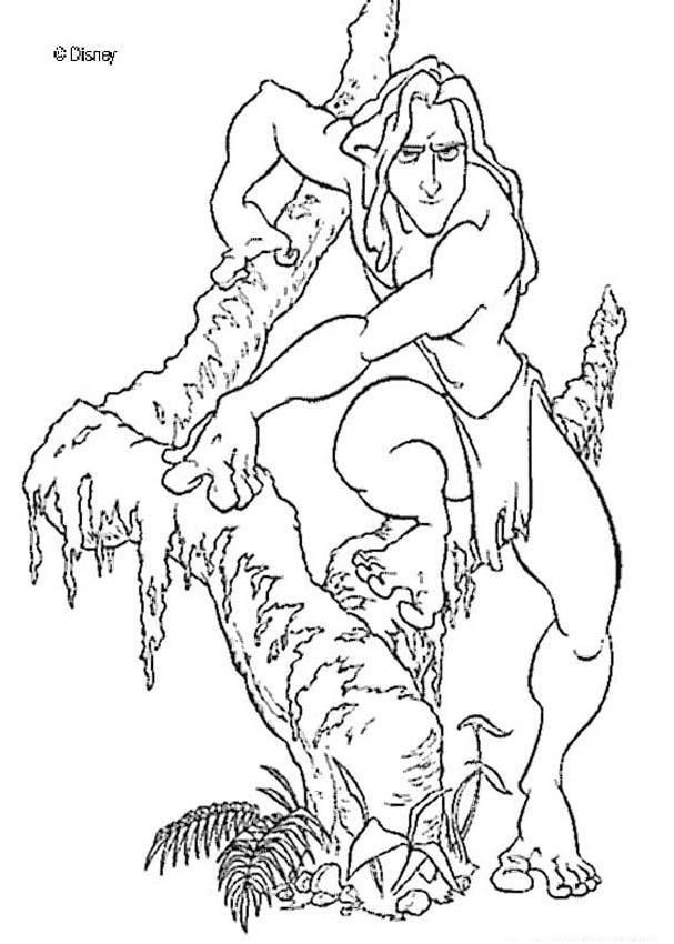 Tarzan Coloring Pages - Coloring Home
