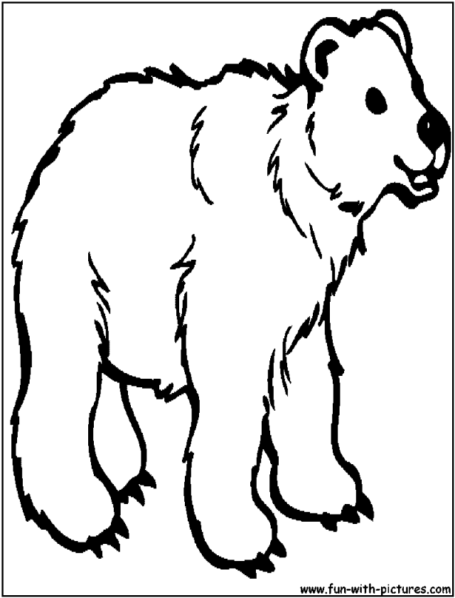 Bear Coloring Pages Pdf : Simple shapes coloring pages teddy bear