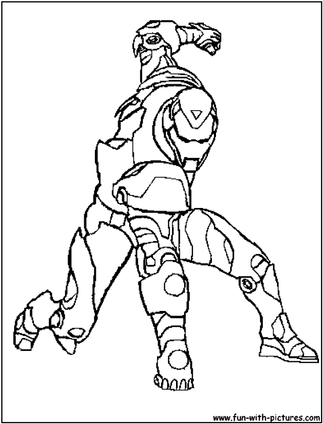 hero factory coloring pages - photo#22